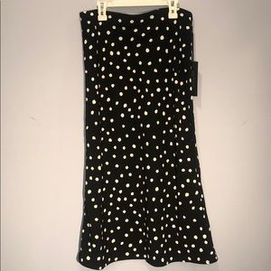 Rachel Zoe | midi skirt with polka dot print